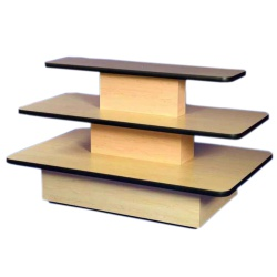 Rectangular 3 Tier Merchandising Table
