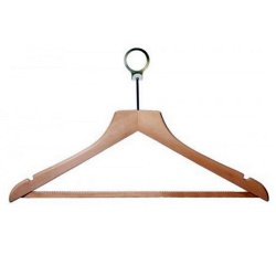 Wooden Shaped Hotel Hangers (Box Of 100)