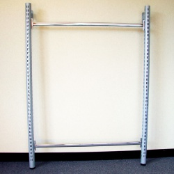 Twin Slot Shelving Tubular Wall Bays (Assorted Sizes)
