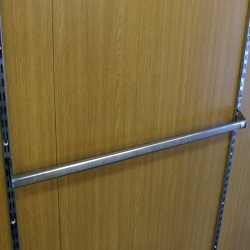 Twin Slot Shelving Accessory Bar