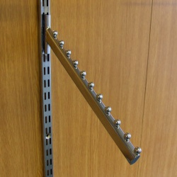 Twin Slot Shelving 11 Ball Warterfall Arm
