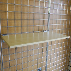 Gridwall MDF Shelves Shop Fittings (Maple Or White)