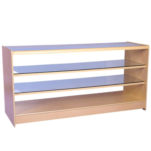 Three Level Retail Display Counter (Assorted Colours)