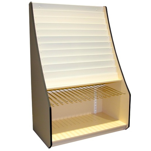 Greeting Card And Gift Wrap Display Unit