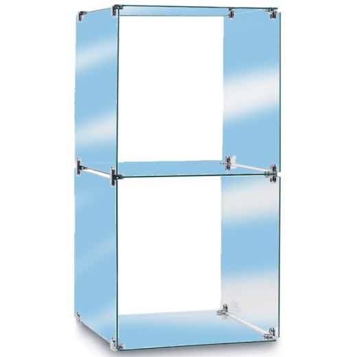 Two Glass Cubes Retail Display Kit