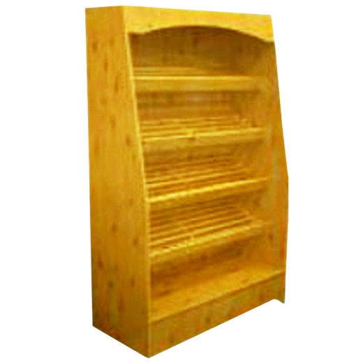 Wooden Bread Display Unit