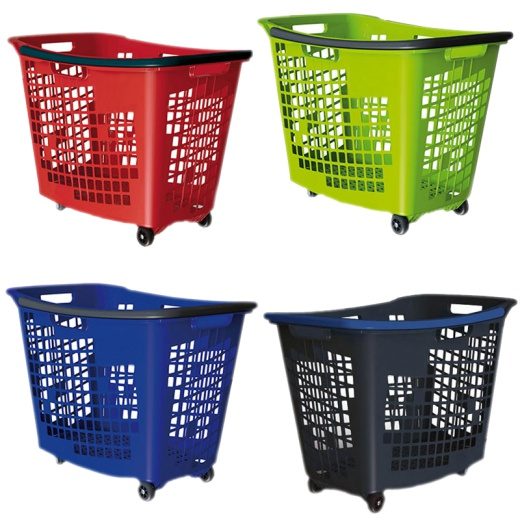 Shopping Trolley Baskets (55L Pack Of 5)