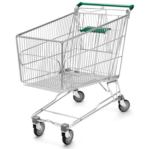 Large Supermarket Trolley (180L Or 240L)
