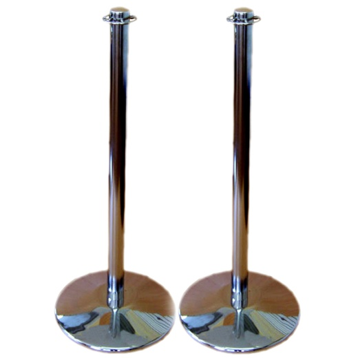 Customer Guidance Barrier Posts (2 Pack)