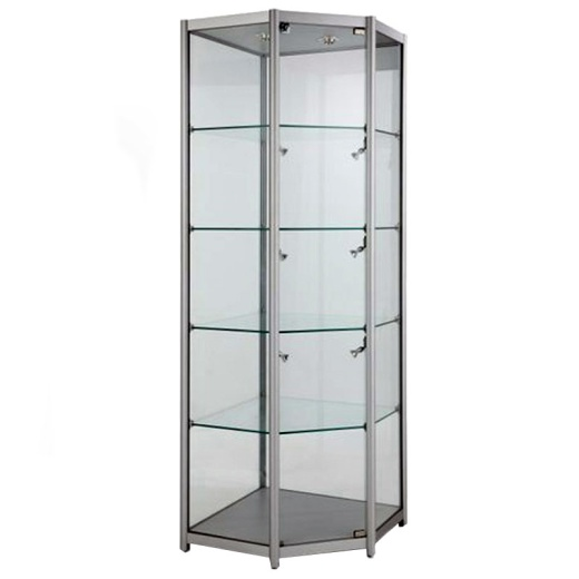 Corner Glass Showcase Cabinet (1980 X 650MM)