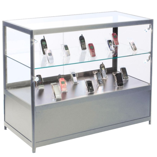 Aluminium Counter With Storage 900 X 1000 X 500