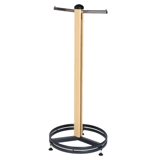 Cladded Twin Slot Single Clothes Stand (1.6M)