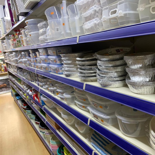 Merchandising Shelving