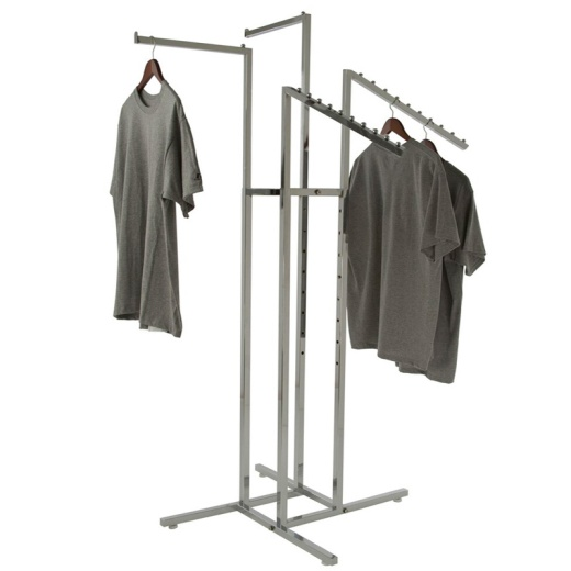 Adjustable 4 Arm Mixed Clothing Rail