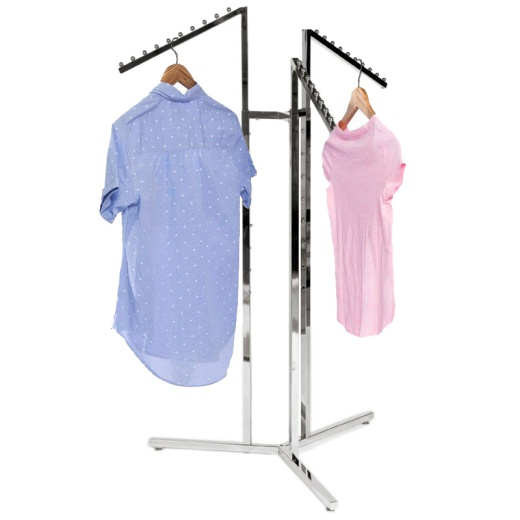 Adjustable 3 Arm Waterfall Clothing Rail