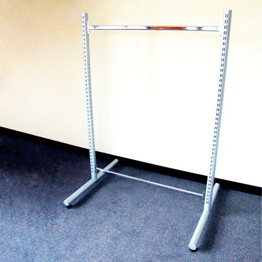 Twin Slot Shelving Tubular Central Bays (Double Legs)