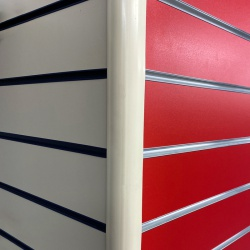Slatwall Panel Edge Trims