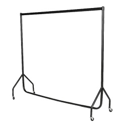 Retail Garment Display Rails