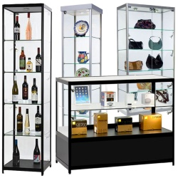 Aluminium & Glass Shop Counters & Showcases