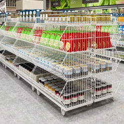 Retail Wire Stacking Baskets