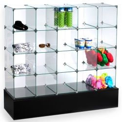 Glass & Wire Display Cubes