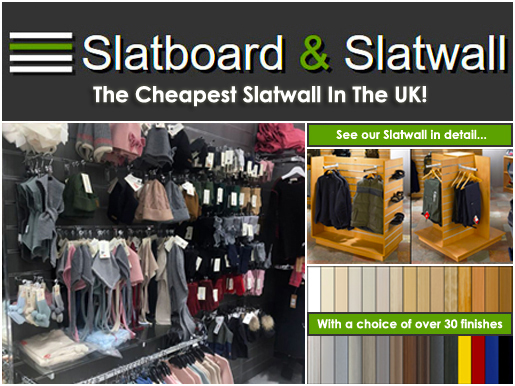 Slatboard &n Slatwall