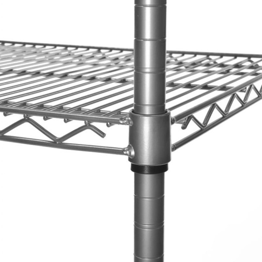 Image of Chrome Wire Shelving (1.83M X 0.81M)