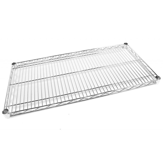 Uni-Shop (Fitting) Ltd - Chrome Wire Shelving (1.83M X 0.81M)