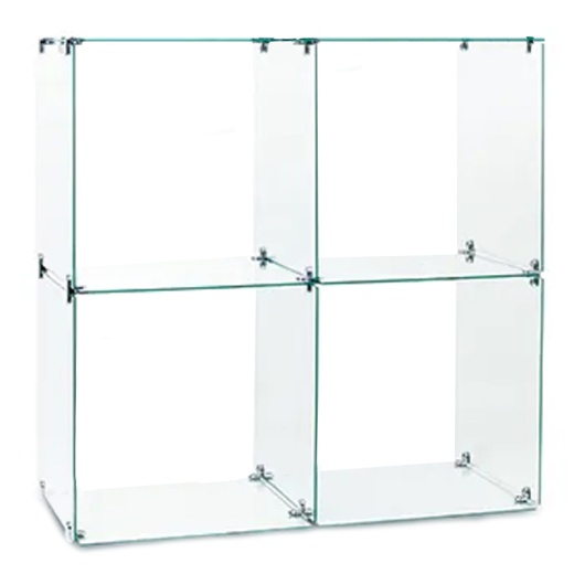 Picture of Four Glass Cubes Retail Display Kit