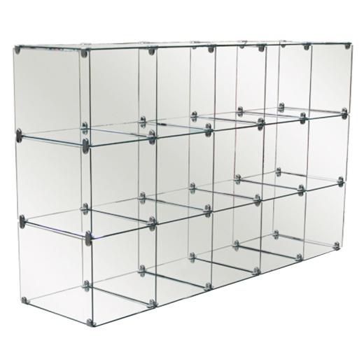 Picture of Fifteen Glass Cubes Retail Display Kit
