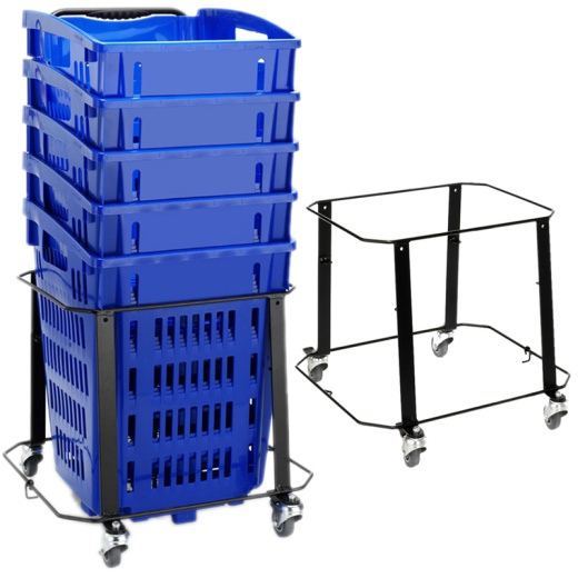 Picture of Trolley Basket Stacker (34L)
