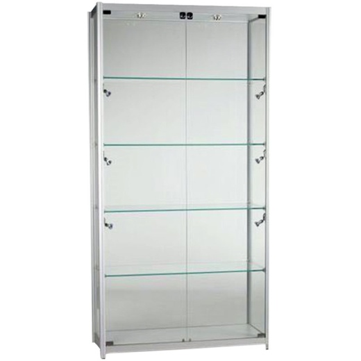 Picture of 2 Door Glass Showcase Cabinet (1980 X 1000MM)