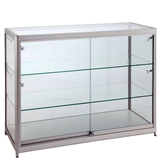 Picture of Aluminium & Glass Retail Cabinet 900 X 1200 X 600