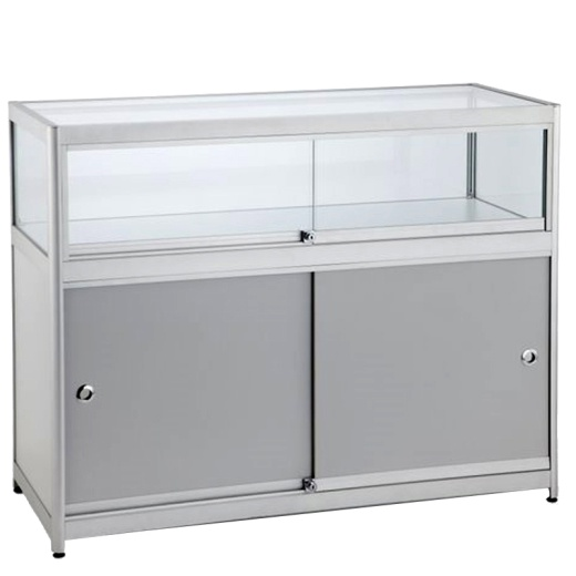 Picture of Glass Display Storage Counter 900 X 1000 X 500