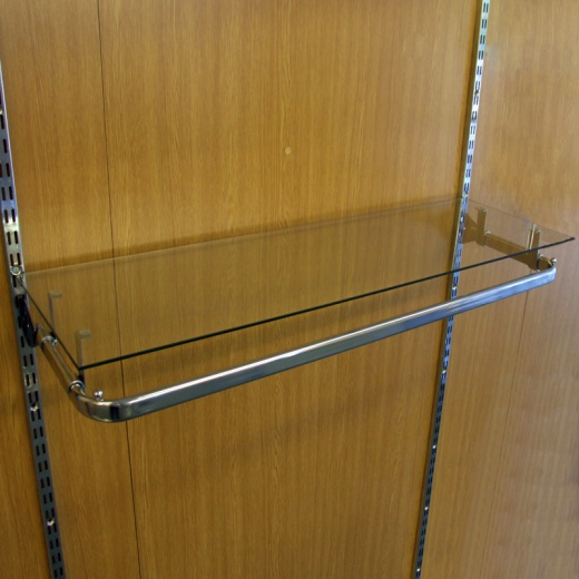 Picture of Twin Slot Shelving Glass Shelf Support Brackets (4 Pack)
