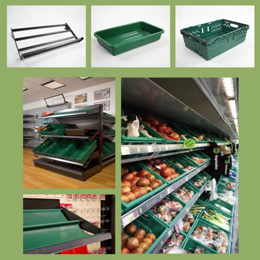 Image of Fruit & Veg Display Stand