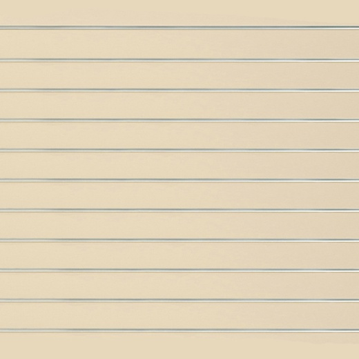 Picture of Cream Slatwall Panels (4x4 & 8x4)