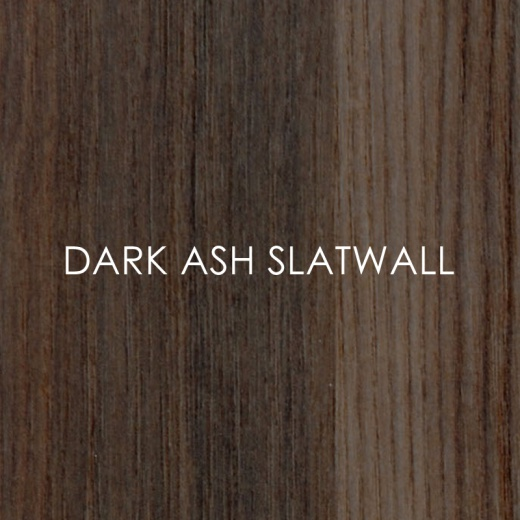 Picture of Dark Ash Slatwall Panels