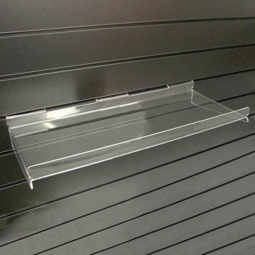 Picture of Slatwall Acrylic Shelf With Supports
