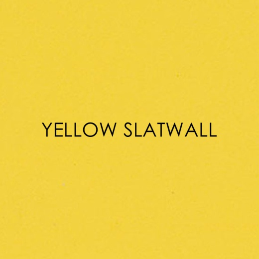 Picture of Yellow Slatwall Panels