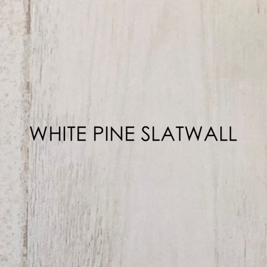 Picture of White Pine Slatwall Panels