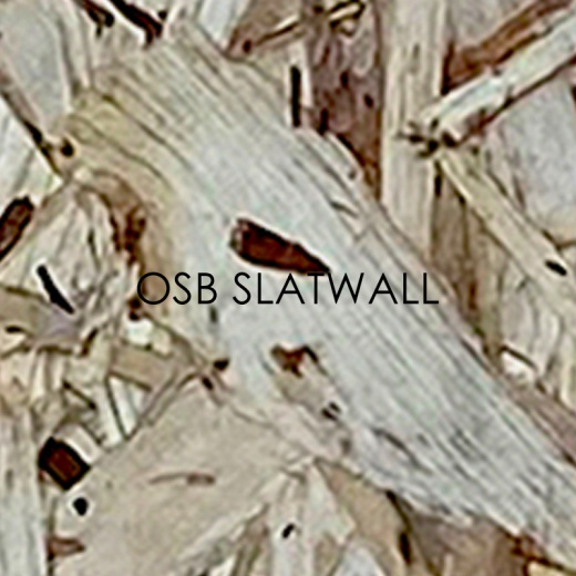 Picture of OSB Slatwall Panels