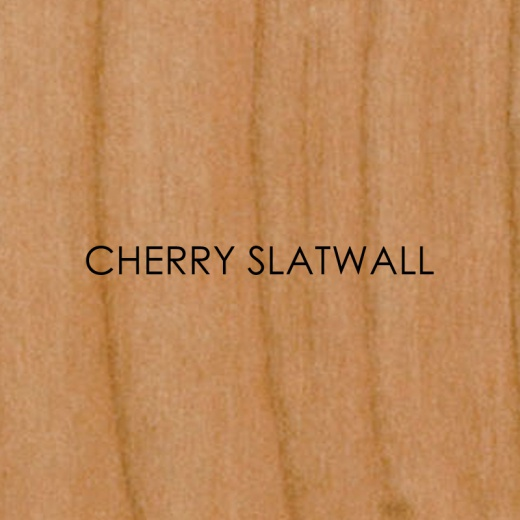 Picture of Cherry Slatwall Panels