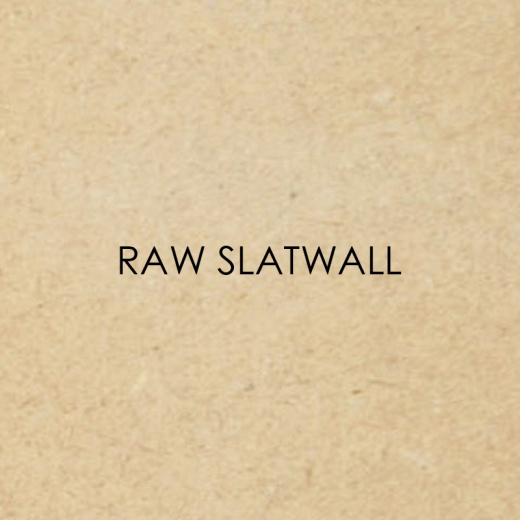 Picture of Raw Slatwall Panels (4x4 & 8x4)