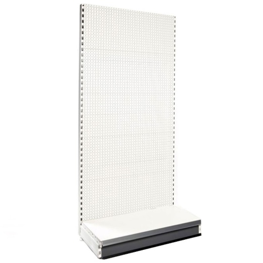 Picture of Shop Shelving Peg Wall Bay & 37cm Base Shelf